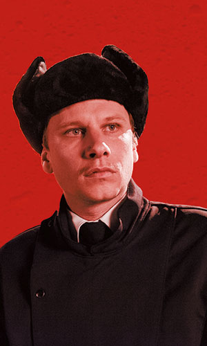 Robert Stadlober as Security Guard